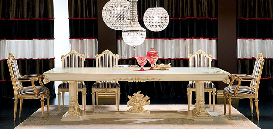 Маса със столове в стил Барок