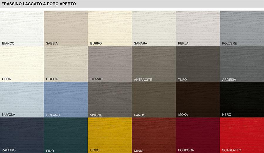 Цветове - MDF естествен фурнир