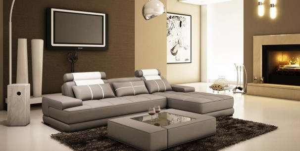 Модерен ъглов диван